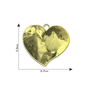 Luxury Heart Photo Pendant
