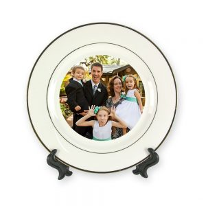 Small Gold Rimmed Plate