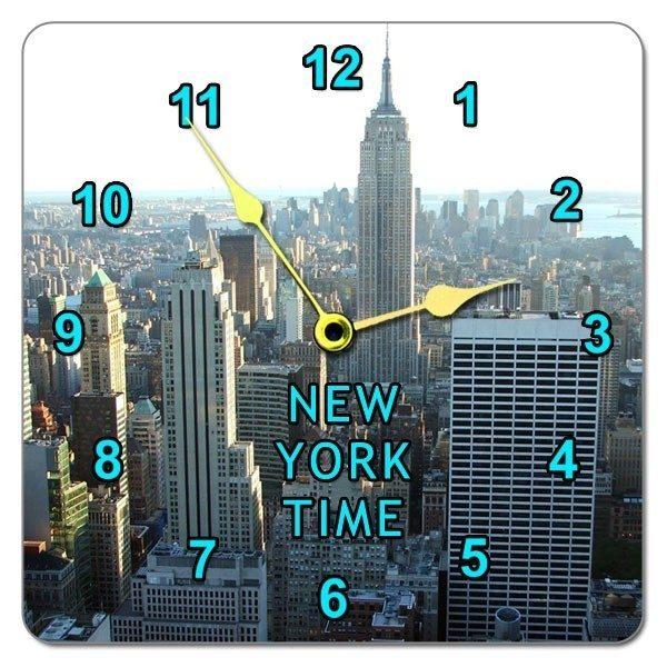 Square Photo Wall Clock