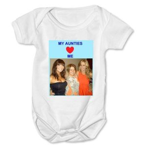 Personalised Photo Baby Grow