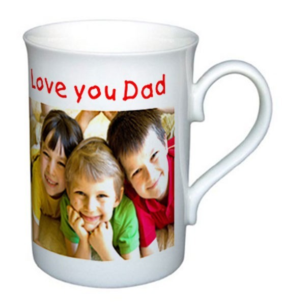 Bone China Photo Mug