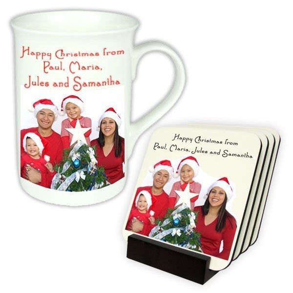 Bone China Mug & Coaster