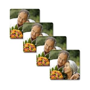 Large Square Photo Coasters