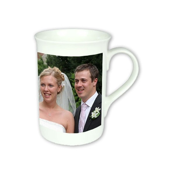 Wedding Anniversary Gift Bone China Photo Mug Photo Memento