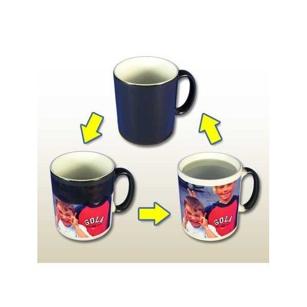 Colour Changing Photo Mug