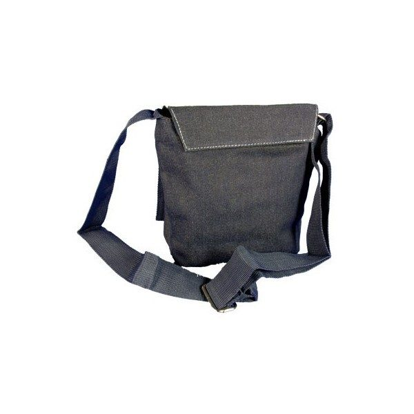 Denim Shoulder Photo Bag