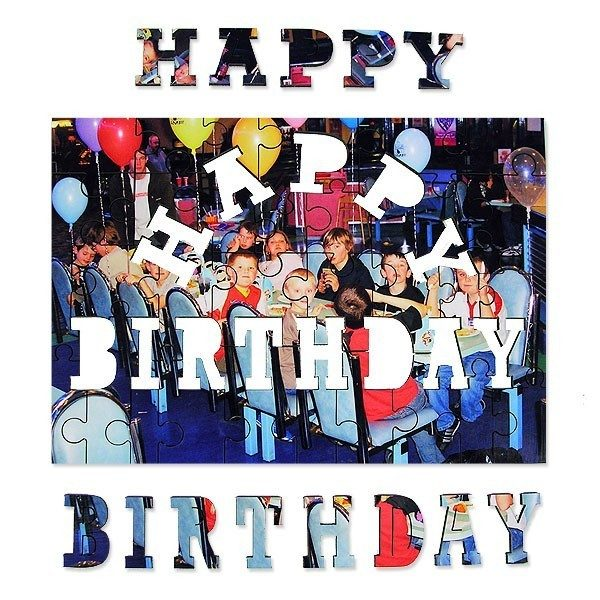 Happy Birthday Photo Jigsaw