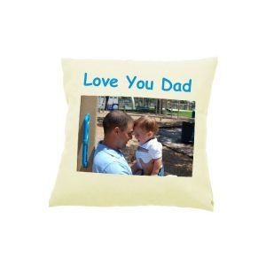 Cream Photo Cushion Cover