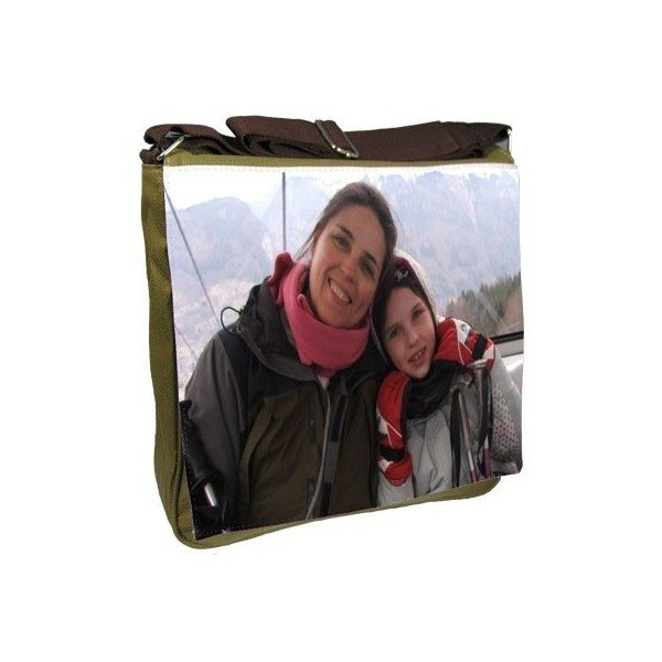 Canvas Photo Shoulder Bag