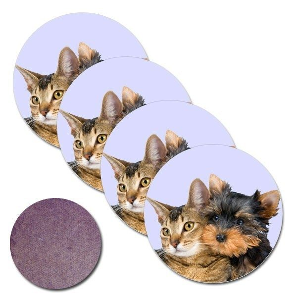 Round Photo Coasters