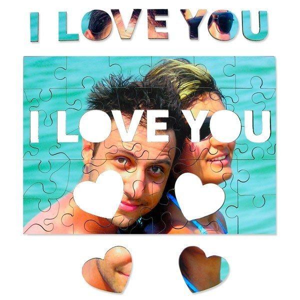 I Love You Photo Jigsaw