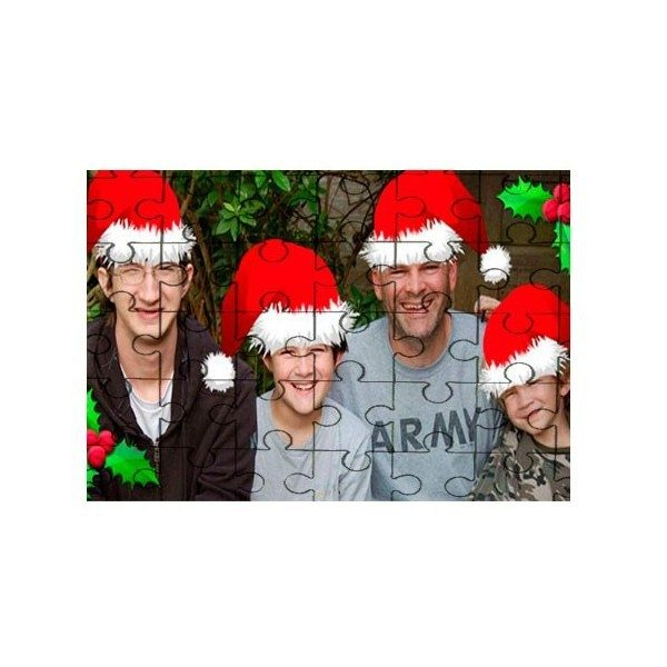 Xmas gift 30 Piece Photo Jigsaw