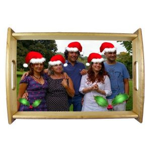 Personalised Xmas Dinner Tray