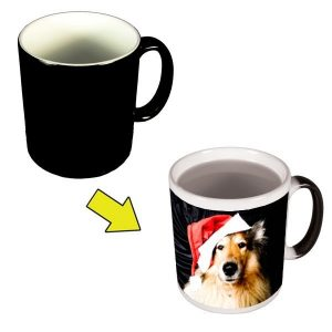 Xmas Colour Changing Photo Mug