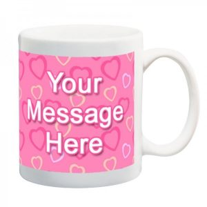Heart Message Mug
