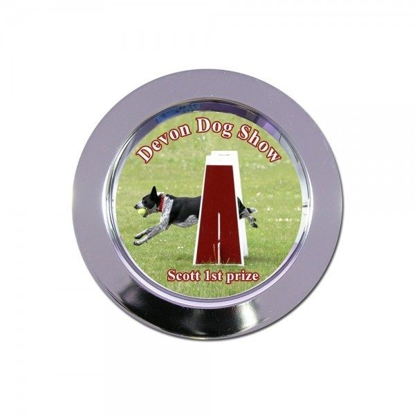 Dog Show Photo Salver