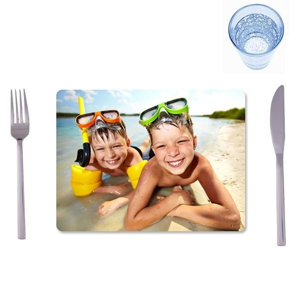2 Matching standard photo placemats
