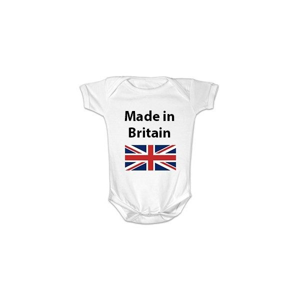 Made in Britain newborn Babygrow