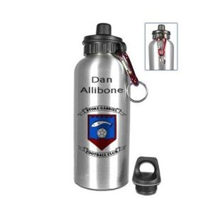Photo Water Bottle Silver