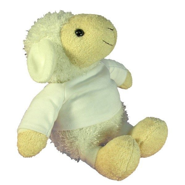 Personalised Plush Sheep with printed message