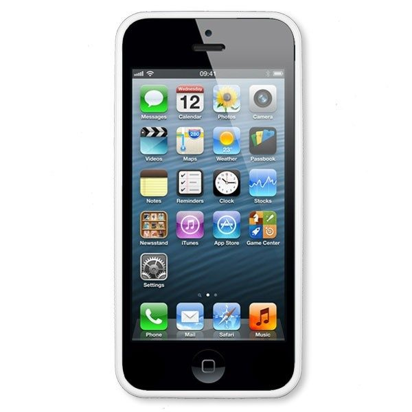 iPhone 4/s White Hard Moulded Plastic Case