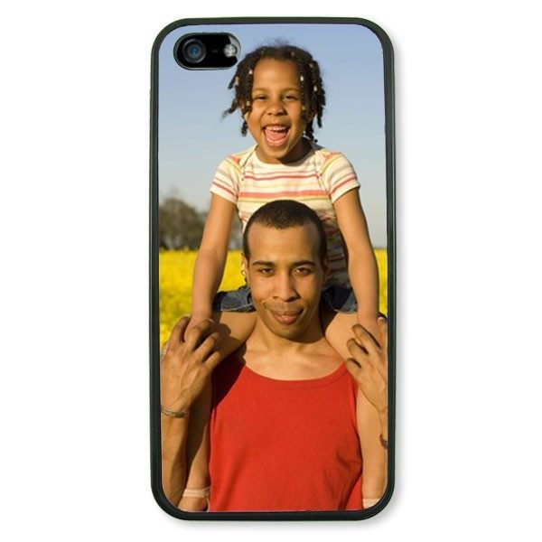 Personalised iPhone 5 Black TPU Soft Silicone rubber case