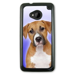HTC one M7 hard plastic black Phone Case
