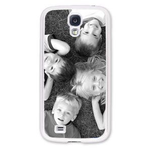 Personalised Samsung S4 i9500 Protective Case in White