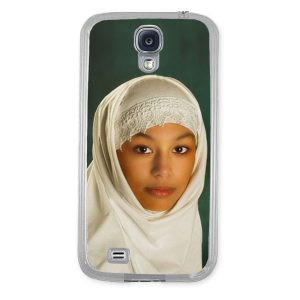 Personalised Samsung S4 i9500 Protective Case in clear plastic