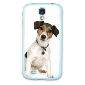 Personalised Samsung S4 i9500 Protective Case in Light Blue