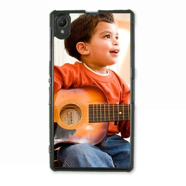 Personalised Sony Xperia Z Protective Case in Black