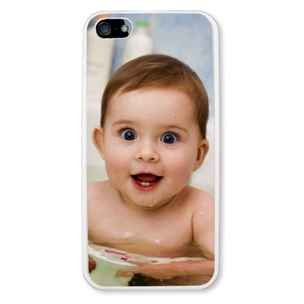 Personalised iPhone 5 White TPU Soft Silicone rubber case