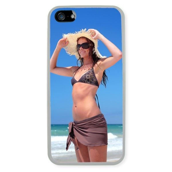 iPhone 5 Transparent Silicone Rubber Case