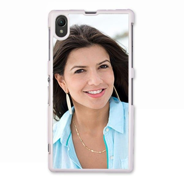 Personalised Sony Xperia Z Protective Case in White