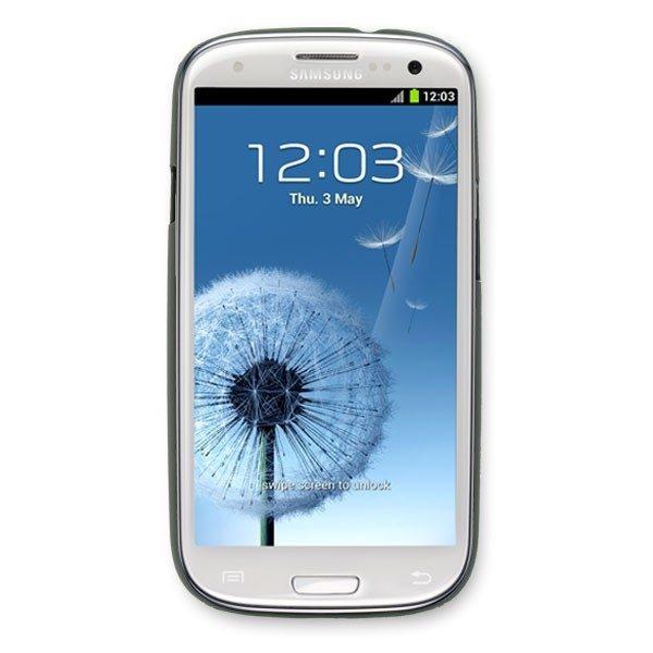 Samsung S3 i9300 Case in Black rubber