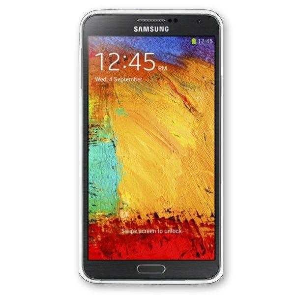 Samsung Galaxy Note 3 White Rubber Case