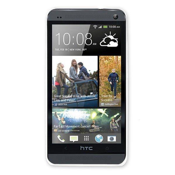 HTC one M7 hard plastic clear Phone Case