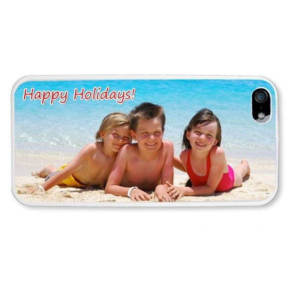 iPhone 5 White Hard Moulded Plastic Case