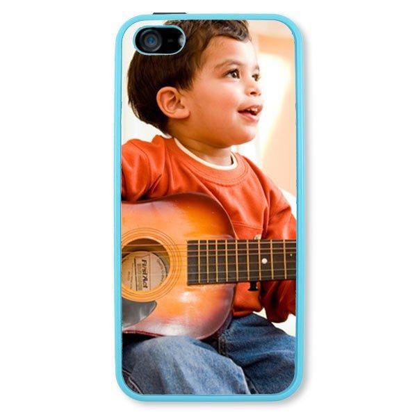 iPhone 5 Light Blue Hard Plastic Case