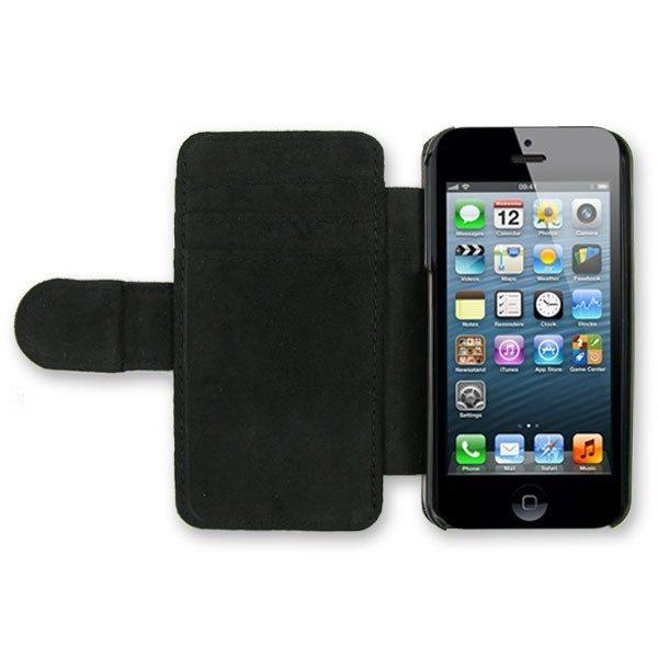 iPhone 5 Black Leather Case