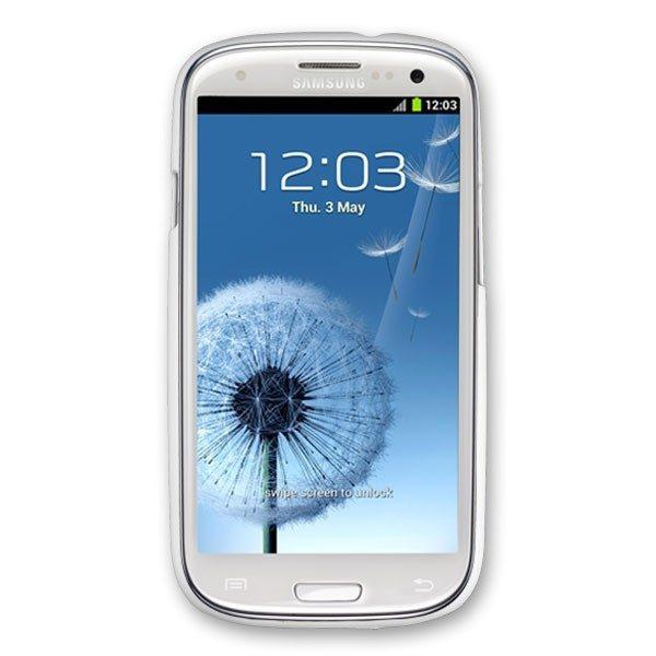 Samsung Galaxy S3 i9300 hard plastic white case