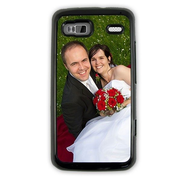 HTC Desire Z - Hard Black Plastic Case