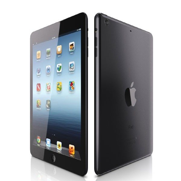 Personalised iPad Air Black protective silicone rubber case