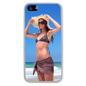 iPhone 5 Transparent Silicone Rubber Case