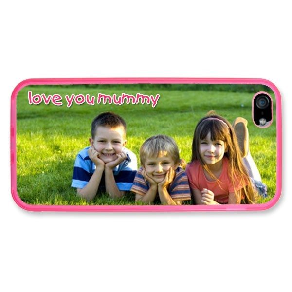 iPhone 5 Pink Silicone Rubber Case
