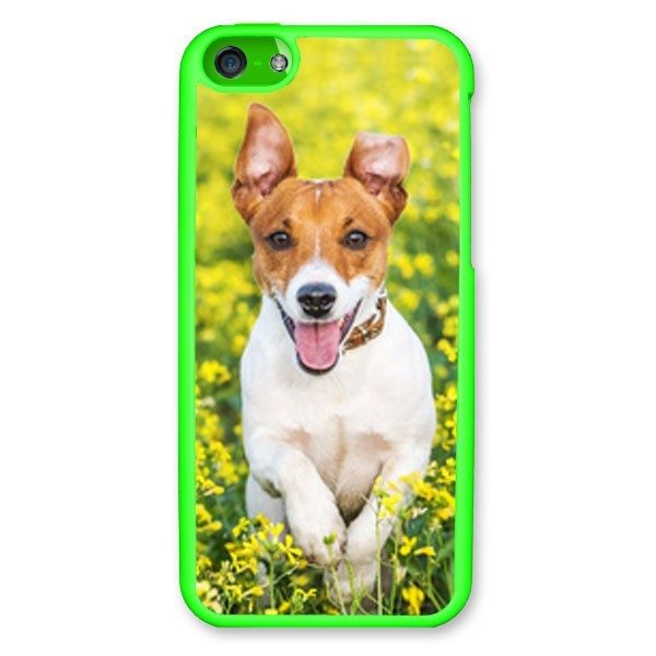 iPhone 5c Green Hard Moulded Plastic Case
