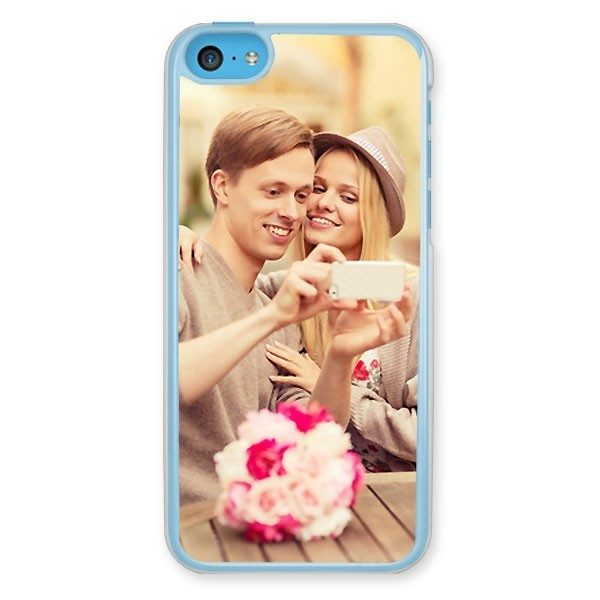 iPhone 5C Transparent Hard Plastic Case