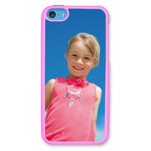 iPhone 5c Light Pink Hard Moulded Plastic Case