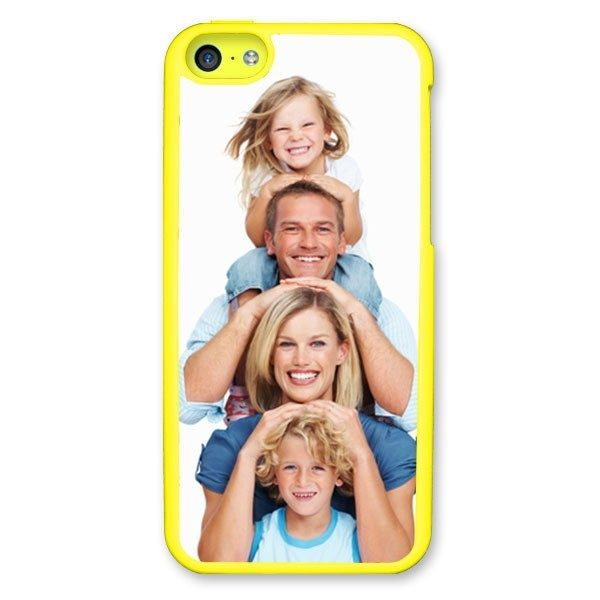 iPhone 5c Yellow Hard Moulded Plastic Case
