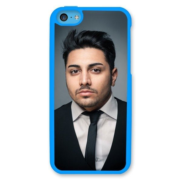 iPhone 5C Dark Blue Hard Moulded Plastic Case